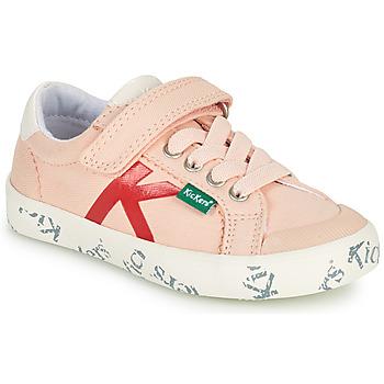 Čevlji  Deklice Nizke superge Kickers GODY Rožnata