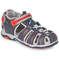 Čevlji  Dečki Sandali & Odprti čevlji Kickers KAWA Rdeča