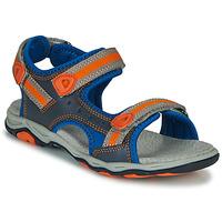 Čevlji  Dečki Sandali & Odprti čevlji Kickers KIWI Modra / Oranžna
