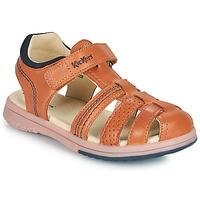 Čevlji  Dečki Sandali & Odprti čevlji Kickers PLATINIUM Kamel
