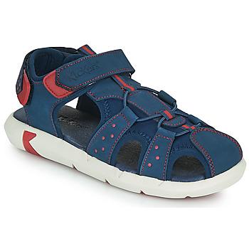 Čevlji  Dečki Sandali & Odprti čevlji Kickers JUMANGE Modra