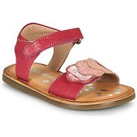 Čevlji  Deklice Sandali & Odprti čevlji Kickers DYASTAR Rožnata
