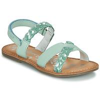 Čevlji  Deklice Sandali & Odprti čevlji Kickers DIMDAMI Modra