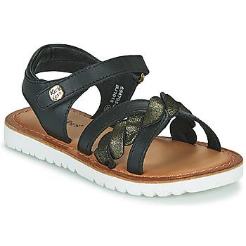 Čevlji  Deklice Sandali & Odprti čevlji Kickers BETTYL Črna
