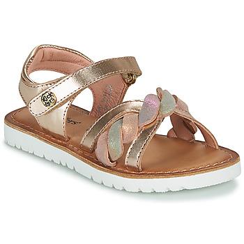Čevlji  Deklice Sandali & Odprti čevlji Kickers BETTYL Rožnata