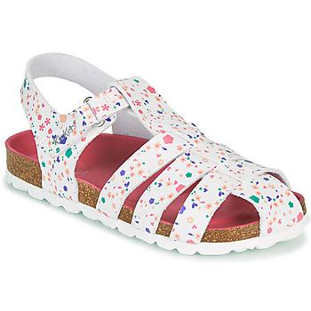 Čevlji  Deklice Sandali & Odprti čevlji Kickers SUMMERTAN Rožnata