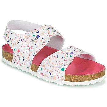 Čevlji  Deklice Sandali & Odprti čevlji Kickers SUMMERKRO Rožnata