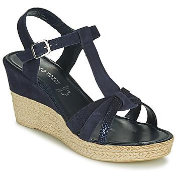 Čevlji  Ženske Sandali & Odprti čevlji Marco Tozzi ANNA Modra