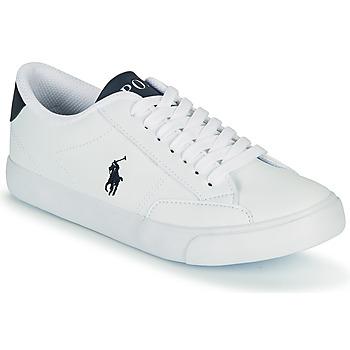 Čevlji  Otroci Nizke superge Polo Ralph Lauren THERON IV Bela