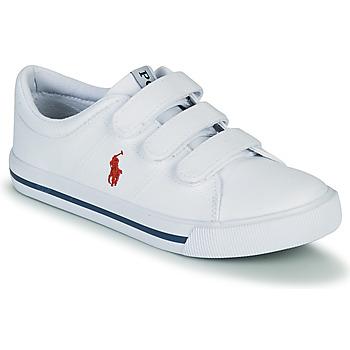 Čevlji  Otroci Nizke superge Polo Ralph Lauren ELMWOOD EZ Bela