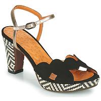 Čevlji  Ženske Sandali & Odprti čevlji Chie Mihara ELIS Črna