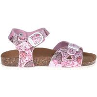 Čevlji  Deklice Sandali & Odprti čevlji Bionatura CHIARA IMB Roza