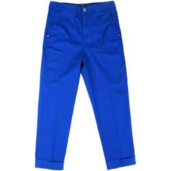 Oblačila Ženske Hlače Chino / Carrot Fornarina BE171L73G29112 Modra