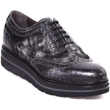 Čevlji  Ženske Čevlji Derby NeroGiardini A806371D Siva