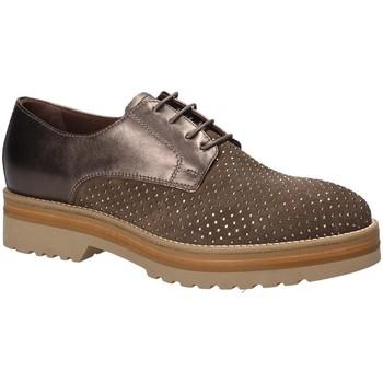 Čevlji  Ženske Čevlji Derby NeroGiardini A806560D Rjav