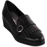 Čevlji  Ženske Mokasini Grunland SC3141 Črna