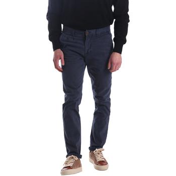 Oblačila Moški Hlače Chino / Carrot Automatic PAU22172 Modra