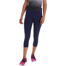 Oblačila Ženske Pajkice Key Up 5LI23 0001 Modra