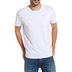 Oblačila Moški Majice s kratkimi rokavi Wrangler W7500F Biely