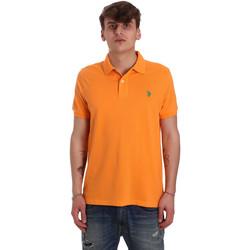 Oblačila Moški Polo majice kratki rokavi U.S Polo Assn. 55957 41029 Oranžna