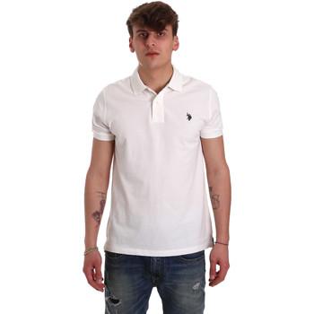 Oblačila Moški Polo majice kratki rokavi U.S Polo Assn. 55957 41029 Biely