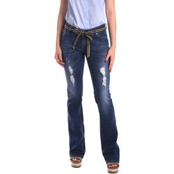 Oblačila Ženske Jeans boyfriend Fornarina BER1I98D834CE Modra