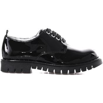 Čevlji  Dečki Čevlji Derby NeroGiardini A830701F Črna