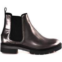 Čevlji  Ženske Gležnjarji Tommy Hilfiger FW0FW03061 Siva