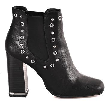 Čevlji  Ženske Gležnjarji Gattinoni PINDL0774W Črna
