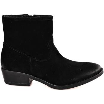 Čevlji  Ženske Gležnjarji Mally 5340 Črna