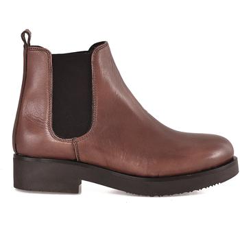 Čevlji  Ženske Gležnjarji Mally 5535 Rjav