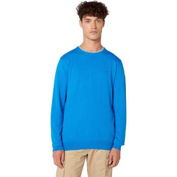 Oblačila Moški Puloverji Wrangler W8A0PDXKL Modra