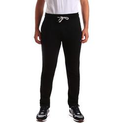 Oblačila Moški Spodnji deli trenirke  Key Up 2F36E 0001 Črna