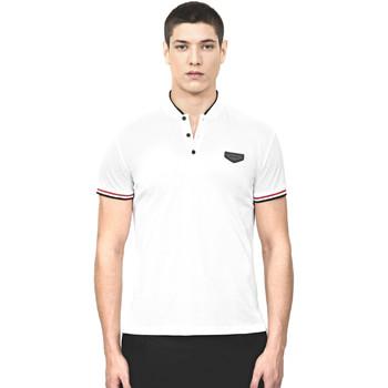 Oblačila Moški Polo majice kratki rokavi Antony Morato MMKS01467 FA100083 Biely