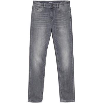 Oblačila Moški Kavbojke slim NeroGiardini E070610U Siva