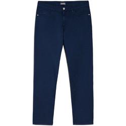 Oblačila Moški Hlače Chino / Carrot NeroGiardini E070630U Modra