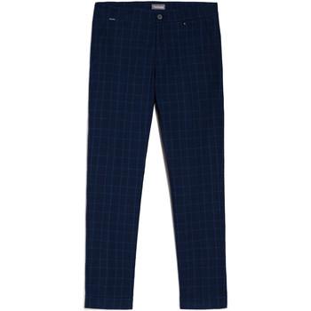 Oblačila Moški Hlače Chino / Carrot NeroGiardini E070682U Modra