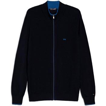 Oblačila Moški Telovniki & Jope NeroGiardini E074560U Modra