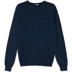 Oblačila Moški Puloverji NeroGiardini E074600U Modra