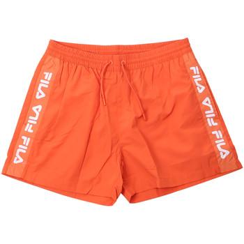 Oblačila Moški Kopalke / Kopalne hlače Fila 687744 Oranžna
