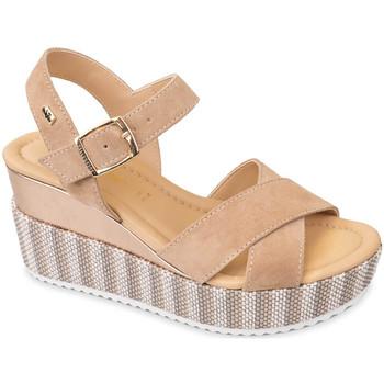 Čevlji  Ženske Sandali & Odprti čevlji Valleverde 32435 Bež