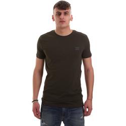 Oblačila Moški Majice s kratkimi rokavi Antony Morato MMKS01417 FA120001 Zelena
