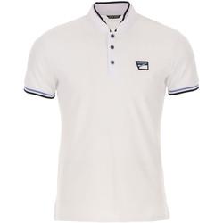 Oblačila Moški Polo majice kratki rokavi Antony Morato MMKS01691 FA100083 Biely