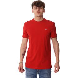Oblačila Moški Majice s kratkimi rokavi Antony Morato MMKS01737 FA120022 Rdeča