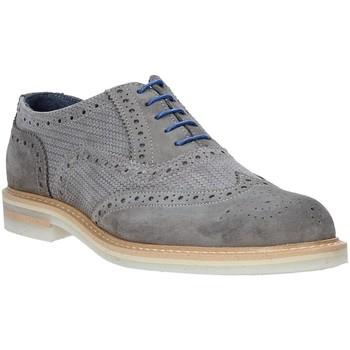 Čevlji  Moški Čevlji Richelieu Rogers 9511A Siva