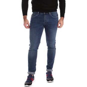 Oblačila Moški Jeans skinny Gas 351276 Modra