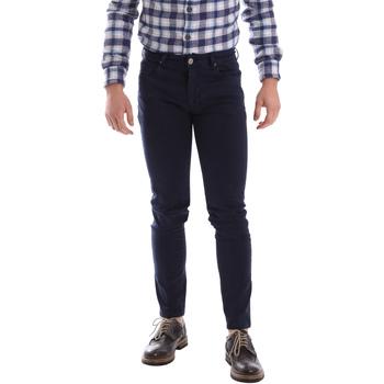 Oblačila Moški Hlače s 5 žepi Sei3sei 02696 Modra