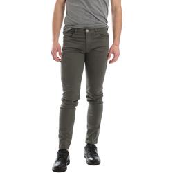Oblačila Moški Hlače s 5 žepi Sei3sei 02696 Zelena