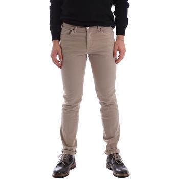 Oblačila Moški Hlače s 5 žepi Sei3sei 02696 Bež