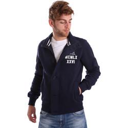 Oblačila Moški Jakne Key Up FGS7 0001 Modra